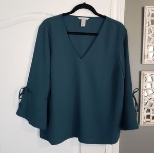 H&M Bell Sleeves Blouse